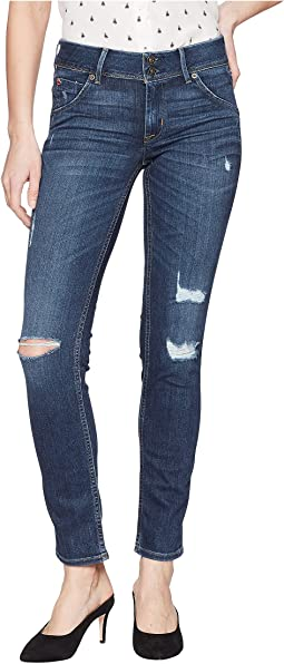 Hudson Collin Mid-Rise Skinny in Spellbound Destructed