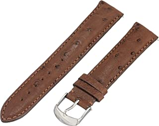 19mm ostrich watch strap