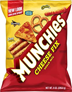 Munchies Snack Mix, Cheese Fix, 8 oz