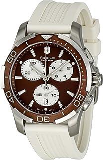 Victorinox - 241503 - Reloj de Pulsera Mujer, Caucho, Color Blanco