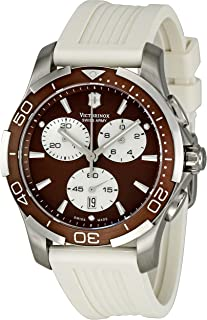 Victorinox Swiss Army Women's 241503 Brown Dial Chronograph Watch