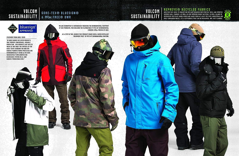 Volcom Mens L Gore-tex 2 Layer Laminate Snow Pant