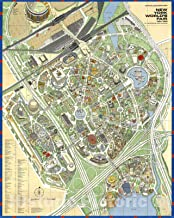 Historic Map - Official Souvenir Map, New York World's Fair, 1964/1965. By the Editors of Time-Life Books. v1-35in x 44in