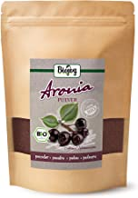 Biojoy Polvo de bayas de Aronia orgánico, Aronia melanocarpa (250 g)