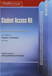 Student Access Kit: For Online Materials That Accompany Organic Chemistry, 6th Edition