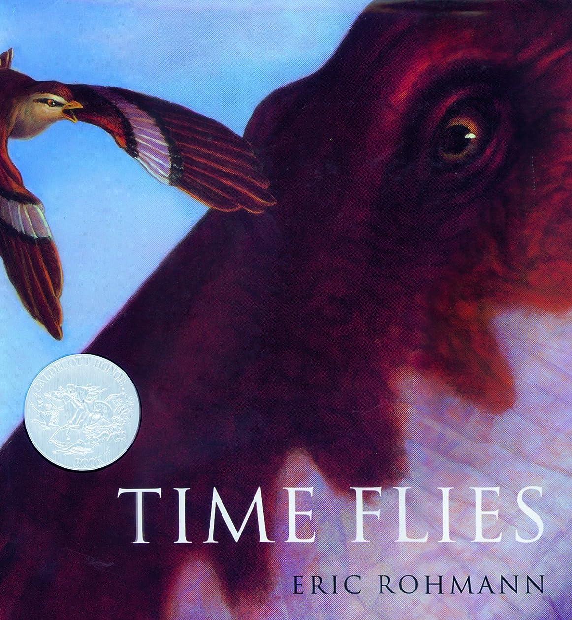 代わりの唇自発的Time Flies (Caldecott Honor Book) (English Edition)