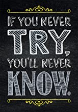 Creative Teaching Press Poster If You Never Try. Inspire U Poster (6745)