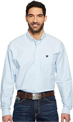 Cinch - Long Sleeve Oxford Weave Solid