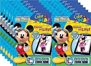 Bendon Mickey Mouse Clubhouse Color and Play 128-Page Coloring and Activity Books (Pack of 12)