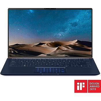 "ASUS ZenBook 14 Ultra-Slim Laptop 14"" FHD Nano-Edge Bezel, 8th-Gen Intel Core i7-8565U Processor, 16GB LPDDR3, 512GB PCIe SSD, Backlit KB, Numberpad, Windows 10 - UX433FA-DH74, Royal Blue"