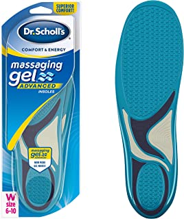 Dr. Scholl's MASSAGING GEL ADVANCED Insoles // All-Day Comfort That Allows You to Stay on Your Feet Longer (for Women's 6-...