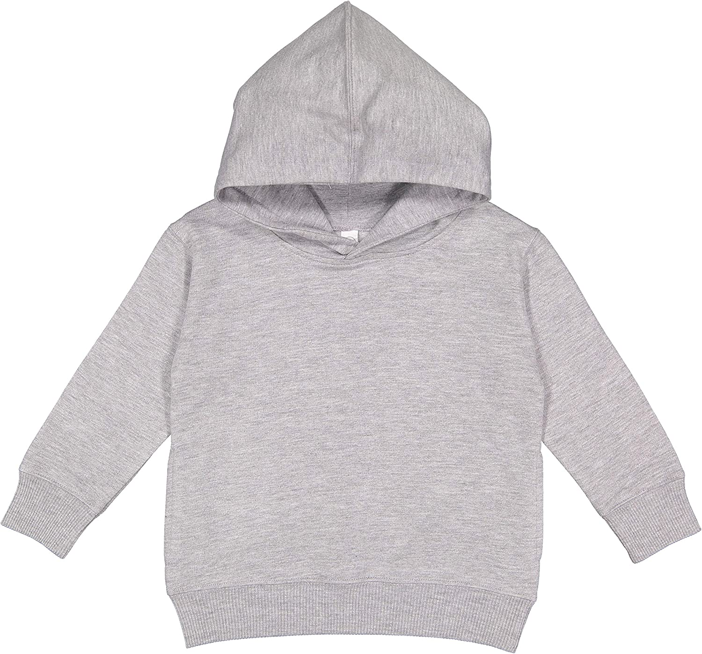 Rabbit Skins Toddler Pockets Fleece Hooded Sweatshirt