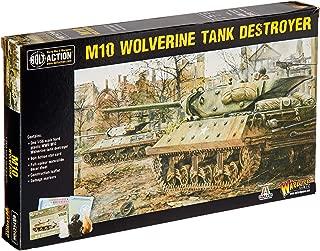 Bolt Action M10 Wolverine Tank Destroyer 1:56 WWII Military Wargaming Plastic Model Kit