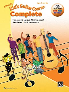 Alfred's Kid's Guitar Course Complete: The Easiest Guitar Method Ever!, Book & Online Video/Audio/Software