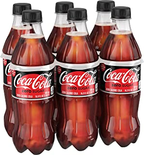 Coca-Cola Zero Sugar, 16.9 fl oz, 6 Pack