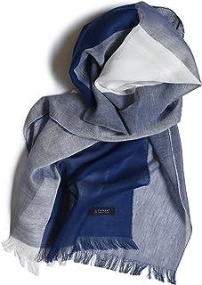 [タバラット] ストール メンズ 薄手 日本製 綿 100% 京丹後産 抗菌防臭 Tps-044