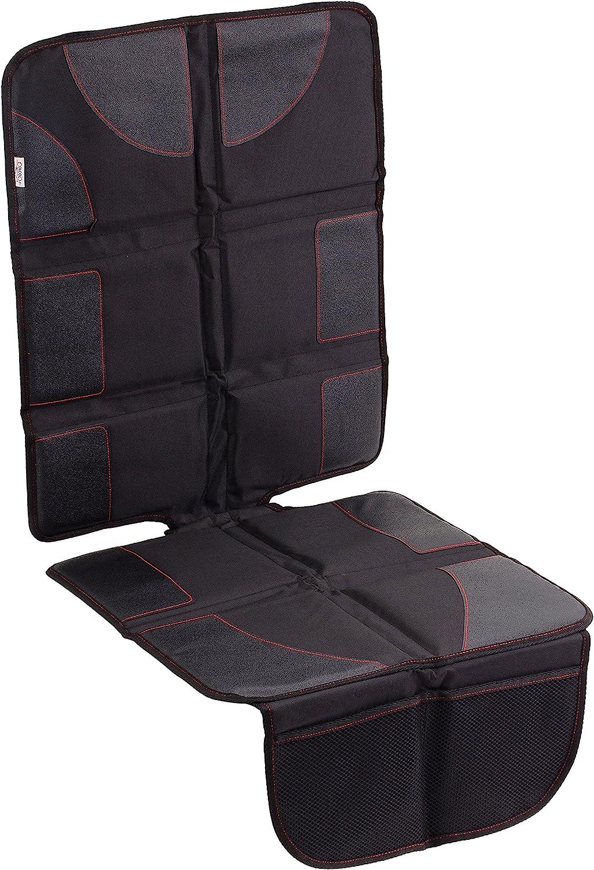 CarCoo Car seat Protector Best car seat mat, Baby car seat Protector, Non-Slip Child seat Protector, seat Protector Under car seat, seat Cover Protector - Large