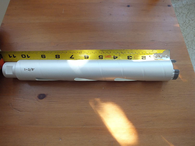 diameter size 1-1//8 TechDiamondTools Diamond Drill Bit Core Boring CONCRETE DRILL 11 long