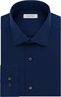 Calvin Klein Men's Regular Fit Non Iron Herringbone...