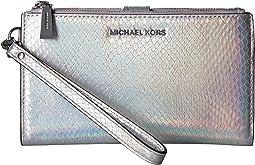 MICHAEL Michael Kors - Double-Zip Wristlet