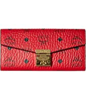 MCM - Patricia Two Fold Wallet with Chain in Visetos