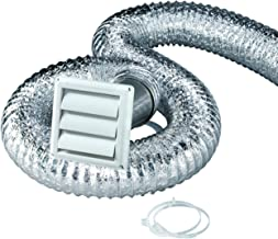 Deflecto Dryer Kit Vent Kit, Clothes Dryer Transition Duct, 4