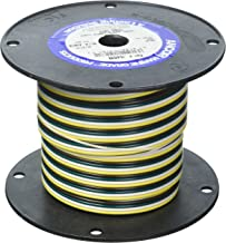 Ancor 154510 Marine Grade Electrical Flat Tinned Ribbon Boat 4-Cable Wiring (16-Gauge, 100-Feet)