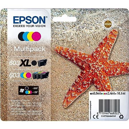 EPSON Multipack 4-colours 603 XL Black/Std. CMY, C13T03A94020
