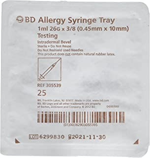 Best allergy syringe tray Reviews