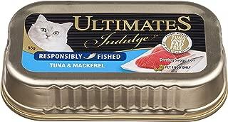 Ultimates Cat Pet Food Indulgence Responsibly Fished Tuna & Mackerel, 80 x 85g, 80 Piece