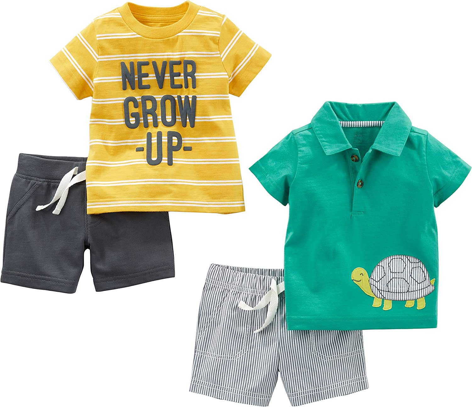 Simple OFFicial site Joys by Carter's Baby 4-Piece Playwear Ranking TOP15 Boys' Set