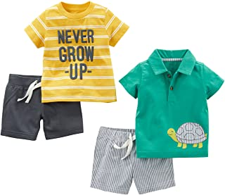 Simple Joys by Carter's Baby Boys' 4-Piece Playwear Set