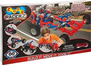 ZOOB RacerZ Car Designer Kit Moving Building Modeling System, 88 Piece Kids Construction Set