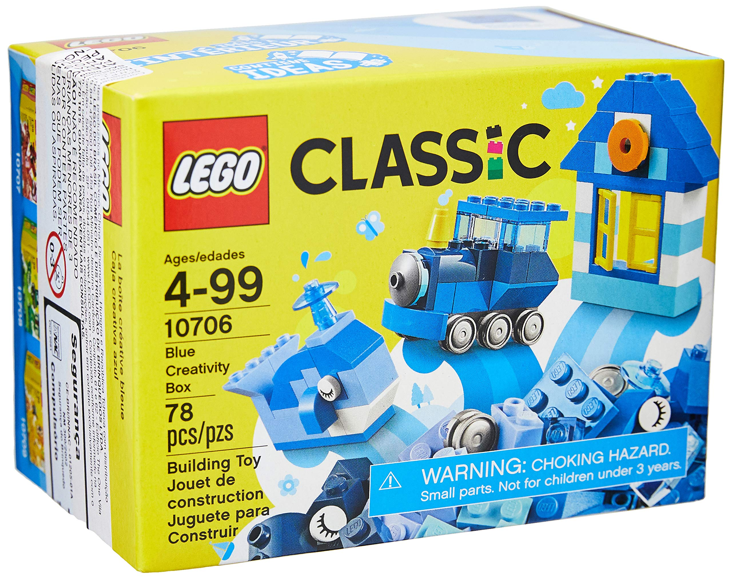 LEGO Classic Blue Creativity Box 10706 Building Kit: Amazon.es: Juguetes y juegos