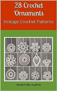 crochet vintage ornaments