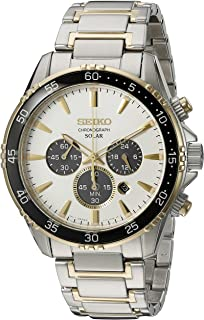 Men's 'Chronograph' Quartz Stainless Steel Dress Watch (Model: SSC446)