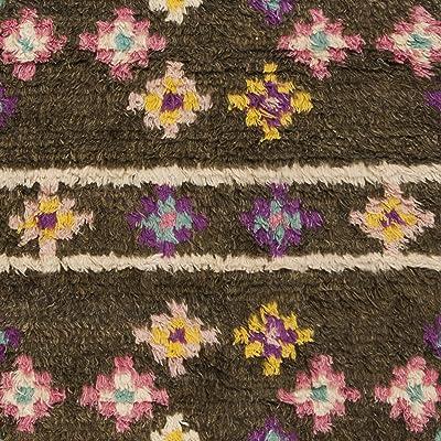Safavieh Kenya Collection KNY841A Handmade Multicolored Premium Wool Area Rug (9' x 12')