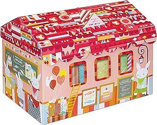 【ギフトセット】 出産祝い おむつボックス 女の子用 Sサイズ  CBO-50GS
