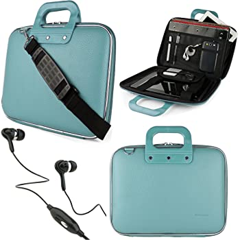 Voyager II Cady Messenger Bag for RCA Mars 8 Tablets up to 10.5 inches with Headphones Galileo Pro Apollo II