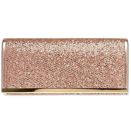 da1adab815 Rose Gold Clutch Bags: Amazon.co.uk