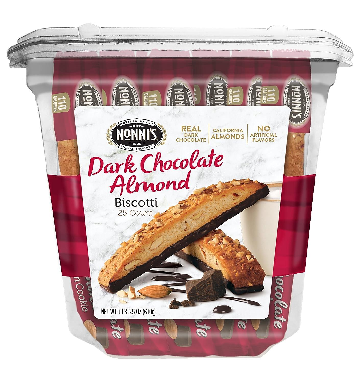 Nonni's Biscotti Value Max 79% OFF Pack Lowest price challenge Cioccolati Chocolate Almond Dark 2