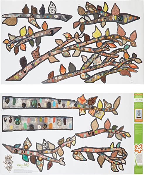 Oopsy Daisy Lone Birch Tree Peel And Place Neutralgray 54 X 60