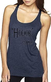New Way 273 - Women's Tank-Top Hodor Hold The Door Game of Thrones Willis