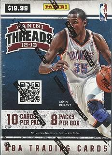 2012 13 panini threads basketball hobby box