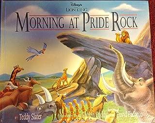 Disney's the Lion King: Morning at Pride Rock
