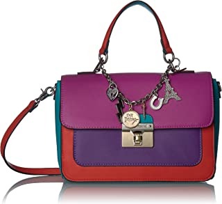 Betsey Johnson Charmed I'm Sure Satchel, Multi