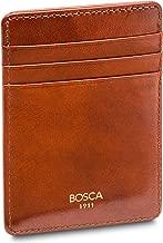 Bosca Men's Front Pocket Wallet in Old Leather - RFID