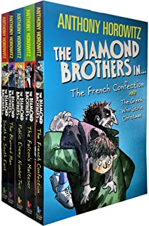 Diamond Brothers 5 Books Collection Pack Set with 7 Titles (Greek Who Stole xmas, Blurred Man, I Know What You Did Last We...