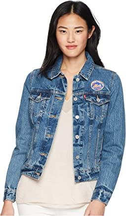 Levi's® Womens NY Mets Denim Trucker Jacket