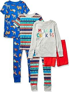 Juego de Pijama de 6 Piezas, Ajuste Cómodo. - Pajama-Sets Unisex niños